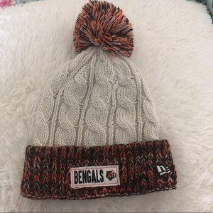 Bengals NFL beanie Pom hat